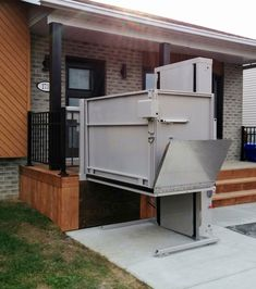 Elevator Design, Steel Panels, Galvanized Steel, Hercules, Science And Nature, Solar Energy, Shed, Wheelchairs, Outdoor Structures