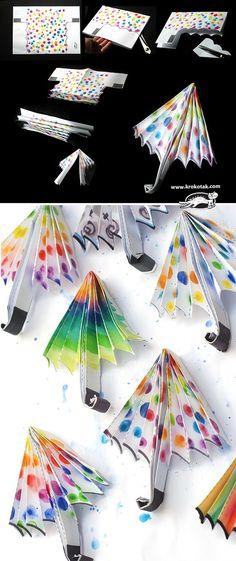 Parapluie en papier