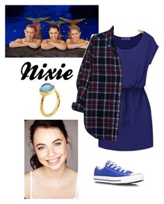 """Mako mermaids- Nixie"" by ravenclawchick852 on Polyvore"