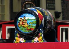 Canal Art Work    Barge Ware Art or Canal Ware Art is a traditional British folk art. This highly decorative form of folk art once adorned t...