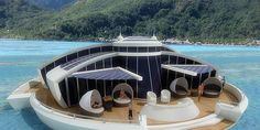 Would You Live In A Floating Vacation Home? - ELLEDecor.com