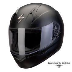 a2fe1104 Scorpion EXO 410 Air Matt Black Motorcycle Outfit, Motorcycle Helmets,  Helmet Liner, Full