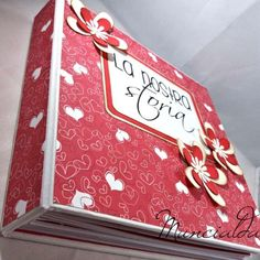 Mini Albums Scrap, Scrapbook Albums, Mini Books, Diy And Crafts, Gift Wrapping, Projects, Big Shot, Notebook, Teacher
