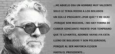Sabias y crudas palabras, QEPD Facundo Cabral