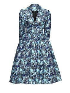 The Betty Coat African Print Fashion, Fashion Prints, Church Fashion, Ankara Dress, Fashion Beauty, Womens Fashion, African Design, Fashion Colours, Ankara Styles