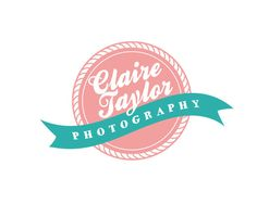 Logos for photographers or other businesses - Customized for ANY business logo -  Premade Photography Logos - Circle Banner Emblem. $10.00, via Etsy.