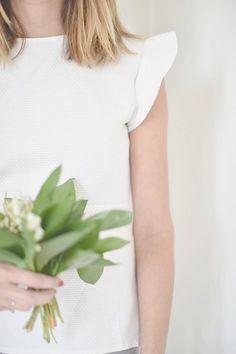Anne-claire en blouse Sévigné
