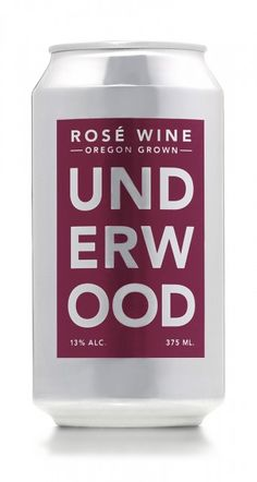 Oregon rosé in a can launched #wine #winenew #can