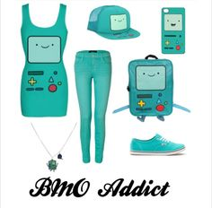 Bmo outfit. I NEED IT SO MUCH. I bet I can get it at Hot Topic.