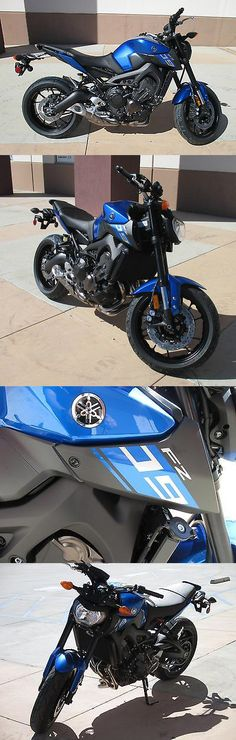 motorcycles And scooters: 2016 Yamaha Fz New 2016 Yamaha Fz-09 Impact Blue Fi 0Mi Dohc 1.59% Ez Finance Fz 09 No Bs Fees -> BUY IT NOW ONLY: $7449.0 on eBay!