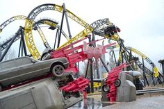 Woah! #LostGravity at #WalibiHolland looks pretty great! Full report with more photos on THEMEPARKREVIEW.COM! #rollercoaster #holland