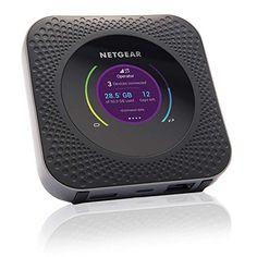 NETGEAR Nighthawk Router 4G con Sim MR1100, Router Wifi Portatile con Porta Ethernet, Velocità di Download fino a 1 G... Best Wireless Router, Best Wifi Router, Internet Setup, Rv Internet, Rv Wifi, Mobiles Internet, Software, Wifi Connect, Home