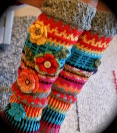 Drawn Thread, Fingerless Gloves, Arm Warmers, Projects To Try, Socks, Fashion Outfits, Winter, Goodies, Diy