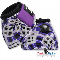 Classic Equine No Turn plaid Bell Boots Horse Boots, Horse Gear, Horse Tips, My Horse, Horse Riding, Riding Boots, Horse Saddles, Western Tack, Western Riding