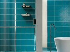 Carrelage mural noir Balles 30 x 60 cm - CASTORAMA Salle de bain ...