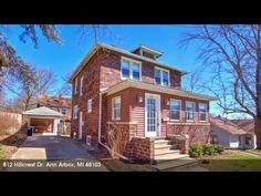 Ann Arbor Real Estate for Sale: 812 Hillcrest Dr.,Ann Arbor,MI 48103 – For More Information Visit: … source