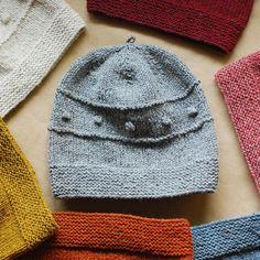 Snoflinga Bobble Hat Knitting Pattern