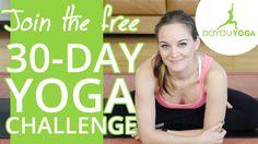 Day 1 - 30 Day Yoga Challenge - Let's Get Started! (martes 17)