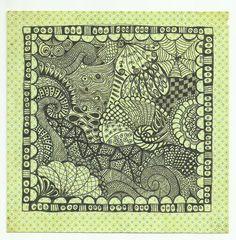 """008_6""""x6"""" Scrapbook Papers, Artline 220 Superfine Pens"""
