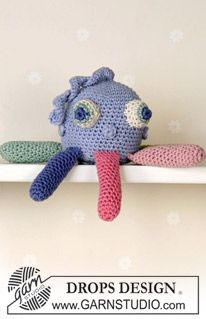 Octopus ~ DROPS Design - FREE Pattern.