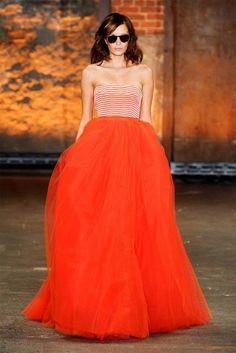 peach and orange