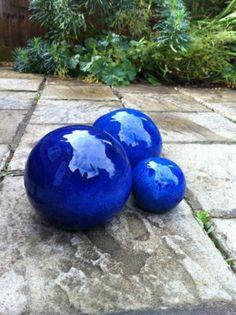 Decorative Ceramic Spheres   For Garden Or Home | EBay