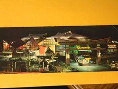 Florida Castaways vintage 1965 postcard Miami Beach motel dining resort