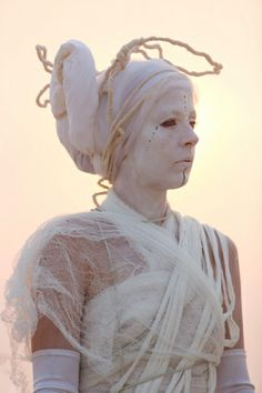 Bad Unkl Sista || Rachel Bowdith, a member of the performance group Vessel, took part in an opera in memory of the artist Pepe Ozan || photo by Scott London