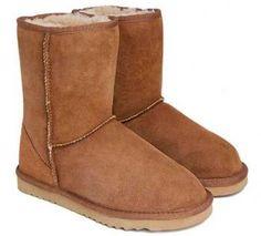 Chestnut Classic Short UGG Boots
