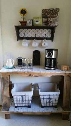 Pallet Coffee Bar