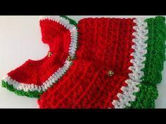 Crochet Water Melon Baby Dress-1 - YouTube