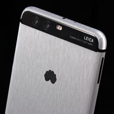 Huawei P10 Plus - Brushed Aluminium Skins