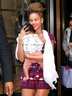 Beyonce's rocking a new braided do. (Also: OMG, baby!)