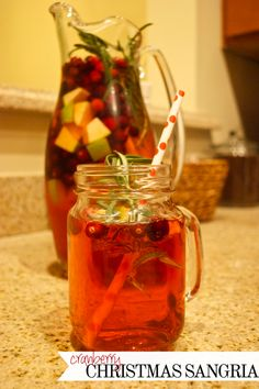 belle in the city: Cranberry Christmas Sangria