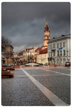 Vilnius, Lithuania (EEEEEEKKK I can barely stand the wait!) :)
