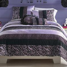 My stuff®/MD Zebra Darling Comforter Set- Sears