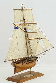 Photos ship model English cutter FLY of 1763, views of entire model Model Sailing Ships, Model Ships, Kayaks, Wooden Ship Model Kits, Model Ship Building, Hms Victory, Ship Paintings, Models For Sale, Boats