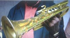 Monette Thomas Music Clinic. Super Cool Outer Shell on a custom designed pro trumpet