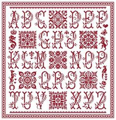 Cuadros Sampler www.clorami-designs.be