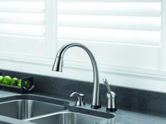 delta brand pilar kitchen faucet pictures photos images