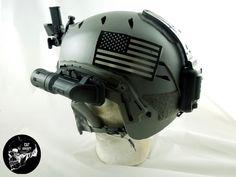 FMA EXFIL BUNGEE HELMET Tactical Helmet, Airsoft Helmet, Indian Army Special Forces, Combat Gear, Football Helmets, Gears, Battle, Emerson, Walls