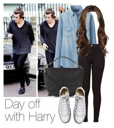 REQUESTED: Day off with Harry by style-with-one-direction on Polyvore featuring polyvore, fashion, style, Uniqlo, American Apparel, Mulberry, Converse, clothing, OneDirection, harrystyles, 1d and harry styles one direction 1d