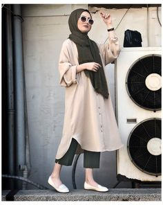 Street Hijab Fashion, Muslim Fashion, Modest Fashion, Casual Hijab Outfit, Hijab Chic, Casual Outfits, Hijab Fashion Casual, Hijab Dress, Classy Outfits