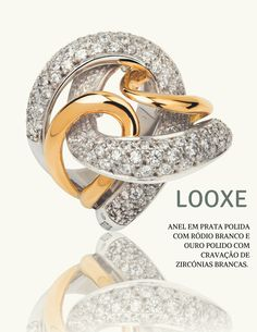 Mais do que uma joía, um motivo para sorrir!  // More than a jewel, a reason to smile! // Más que una joya, una razón para sonreír!  #looxe #looxejewelry #jewelry #anellooxe #anel#modalooxe #joia #sorrir #looxe #looxejewelry #jewelry #looxering#ring#looxefashion #jewel #smile #looxe #looxejewelry #jewelry #anillolooxe #anillo #modalooxe #joya #sonreír   ANL 4354