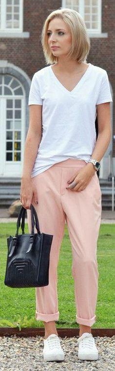 Zara Nude Summer Women's Baggy Pants