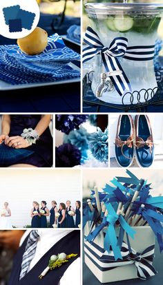 Navy color palette