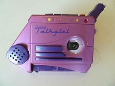 OMG!!   Do you remember this?!    Tiger Deluxe Talkgirl Pink Home Alone Recorder.