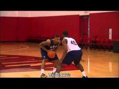美國籃球隊基本動作訓練
