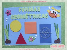 Este kit foi para a Adriana decorar sua salinha.   Obrigada, querida!!!                                     Amei as peças e você o que acho... Diy Home Crafts, Crafts For Kids, Festival Decorations, Professor, Alice, Education, School, Blog, Geometric Fashion