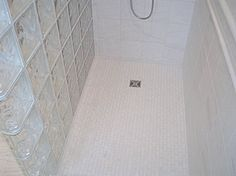 Three of a kind - traditional - bathroom - vancouver - John Whipple - By Any Design ltd.- glass block wall in bath
